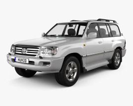 Toyota Land Cruiser VX 2005 3D model
