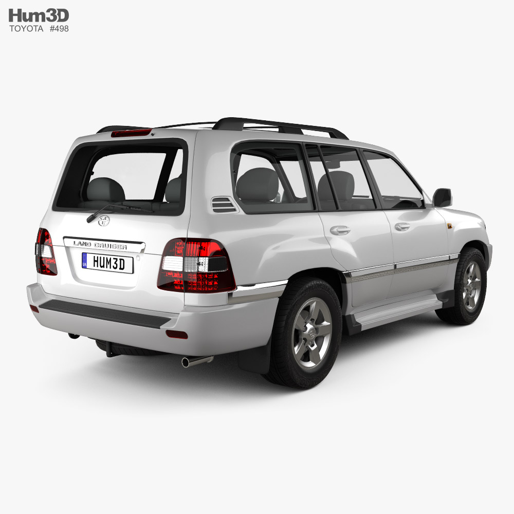 Toyota Land Cruiser VX 2005 3d model