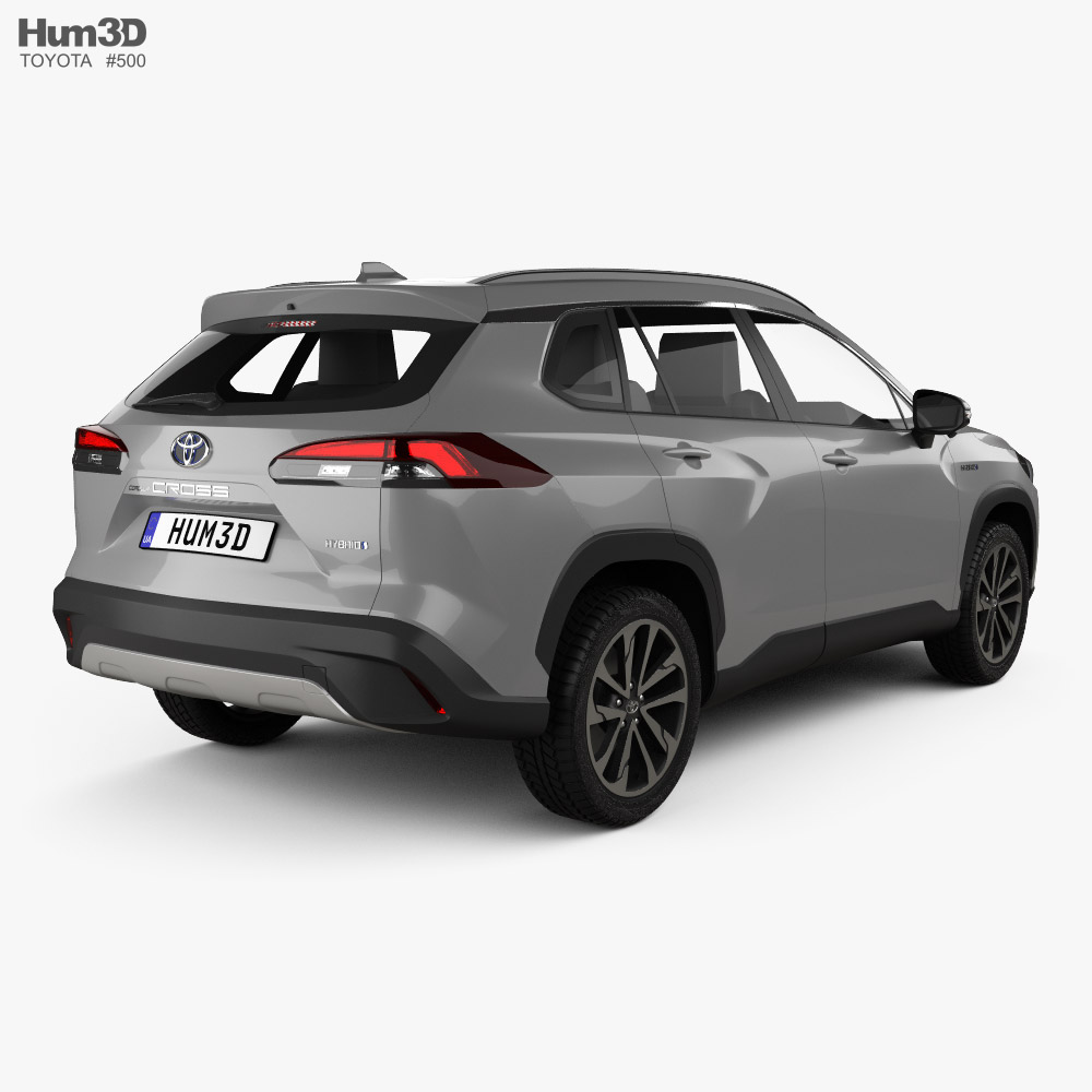 Toyota Corolla Cross 2020 3d model