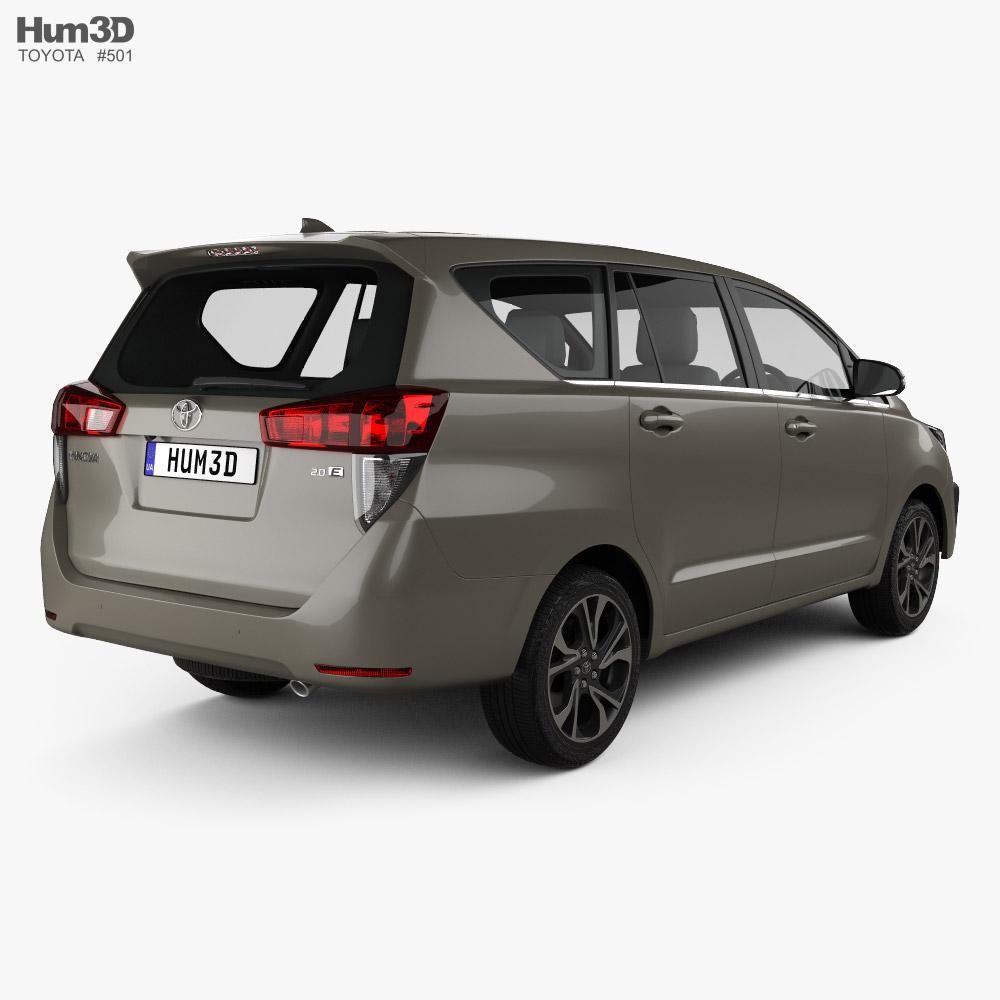 Toyota Innova 2021 3d model