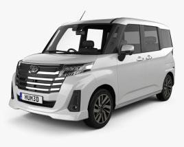 Toyota Roomy G 2020 3D model