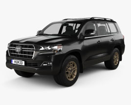 Toyota Land Cruiser US-spec Heritage Edition 2021 3D model