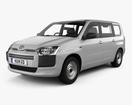 Toyota Probox DX van 2015 3D model