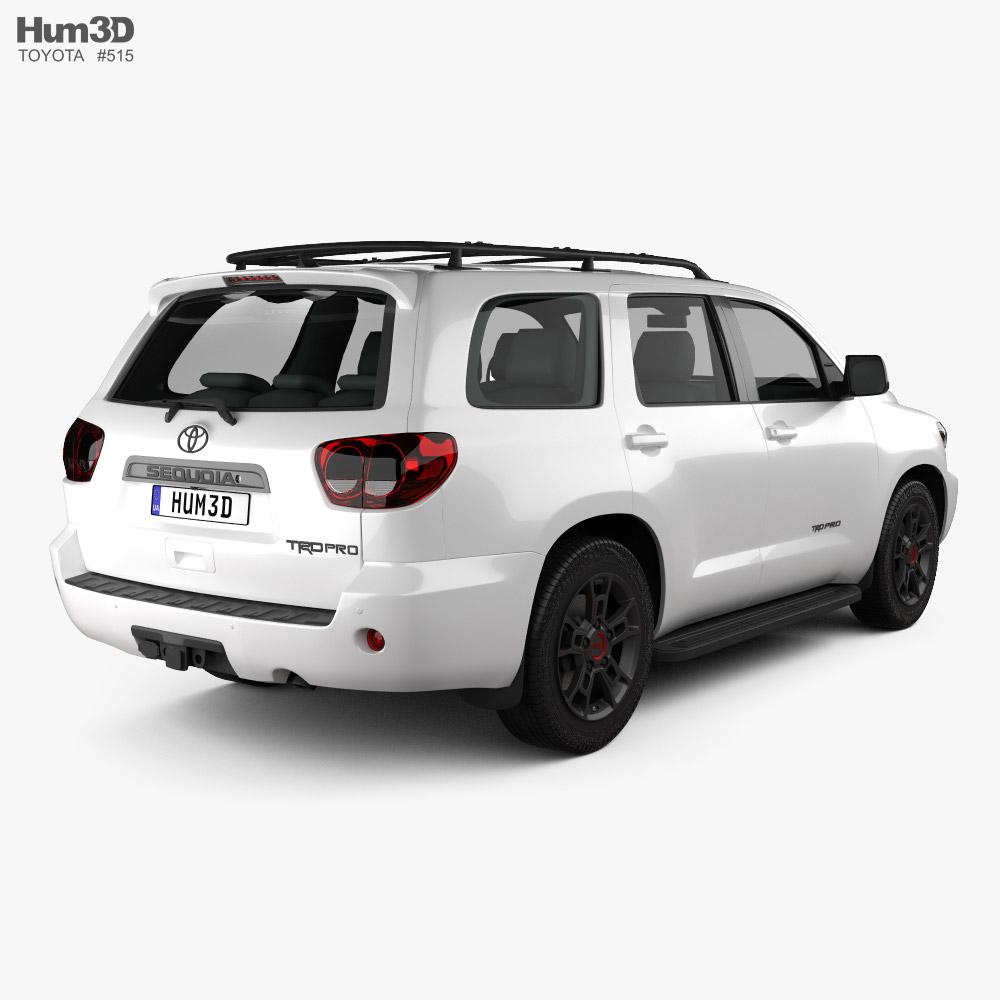 Toyota Sequoia TRD Pro 2021 3d model
