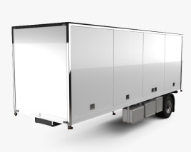 Generic Dry Van Semi Trailer 2011 3D model