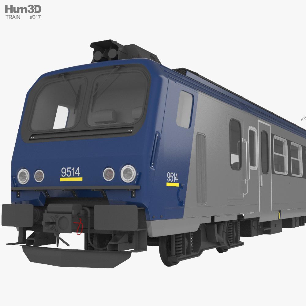 SNCF Class Z 7300 3d model