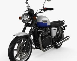Triumph Bonneville 2015 3D model