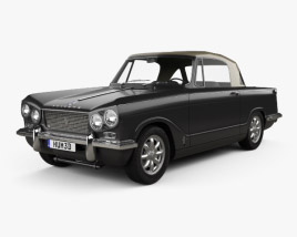 Triumph Sports 6 1962 3D model