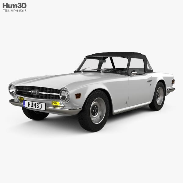 triumph tr6 1969 3d model vehicles on hum3d. Black Bedroom Furniture Sets. Home Design Ideas