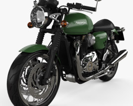 Triumph Thruxton 1200 2018 3D model