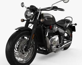 Triumph Bonneville Speedmaster 2018 3D model