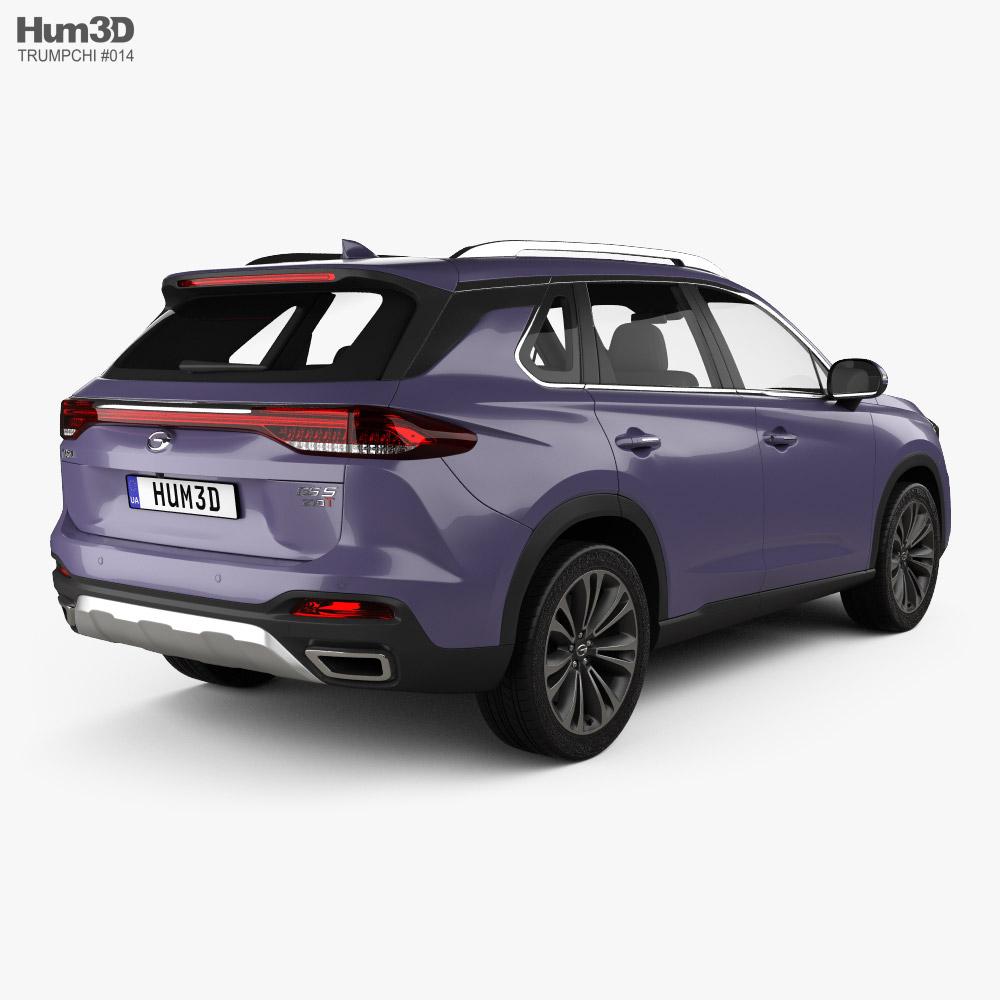 Trumpchi GS5 2018 3d model