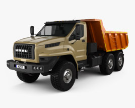 Ural Next Dumper Truck 2016 3D model