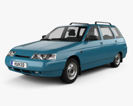 VAZ Lada 2111 wagon 1995 3D model