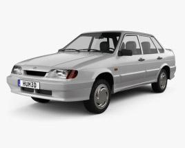 VAZ Lada Samara (2115) sedan 1997 3D model