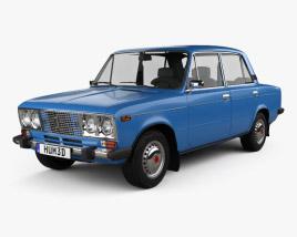 VAZ Lada 2106 1976 3D model