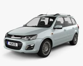 VAZ Lada Kalina (2194) Wagon 2014 3D model