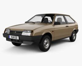 VAZ Lada 2108 1984 3D model