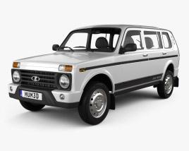 VAZ Lada Niva 4x4 (2131) Urban 2020 3D model