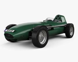Vanwall GPR V12 1958 3D model