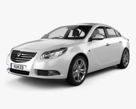 Vauxhall Insignia Sedan 2009 3D model
