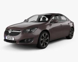 Vauxhall Insignia sedan 2012 3D model