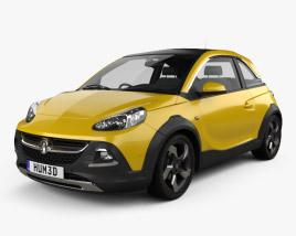 Vauxhall Adam Rocks 2014 3D model