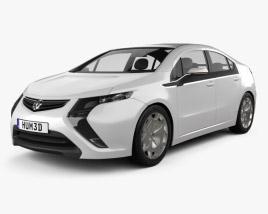 Vauxhall Ampera 2012 3D model