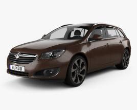Vauxhall Insignia Sports Tourer 2013 3D model