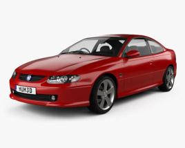 Vauxhall Monaro 2005 3D model