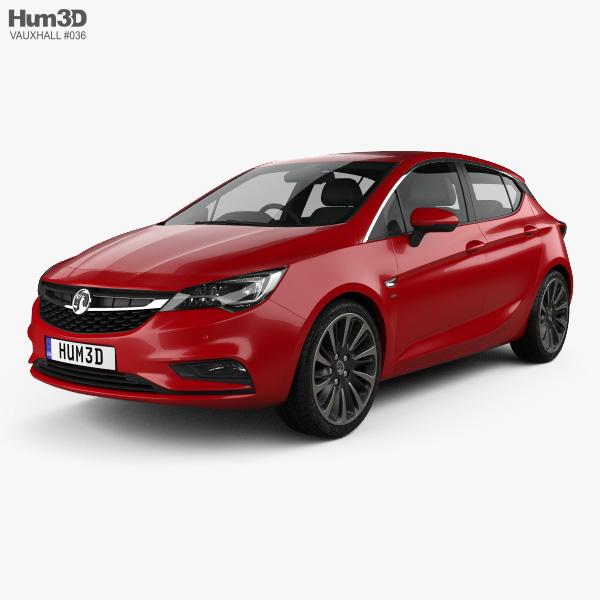 Vauxhall Astra 3D Models Download