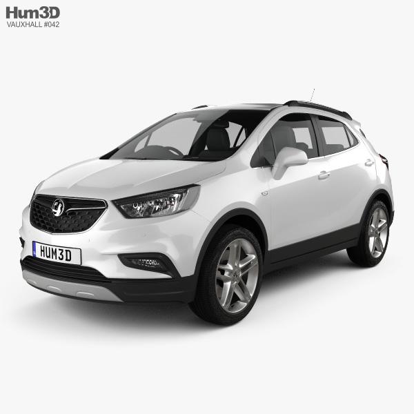 Vauxhall Mokka Dimensions >> Vauxhall Mokka X 2017 3d Model