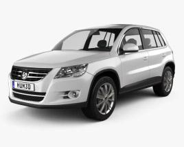 Volkswagen Tiguan 2010 3D model