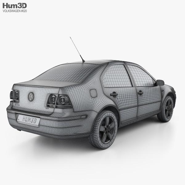 Volkswagen Jetta City 3d Model Hum3d