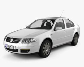 Volkswagen Bora Classic 2008 3D model