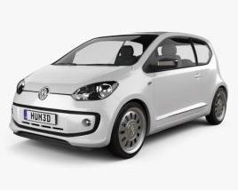 Volkswagen Up 2012 3D model