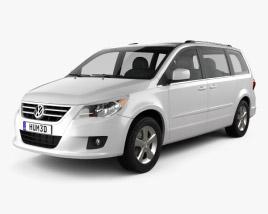 Volkswagen Routan 2012 3D model