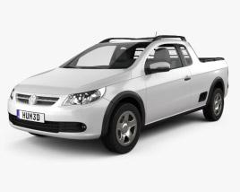 Volkswagen Saveiro 2012 3D model