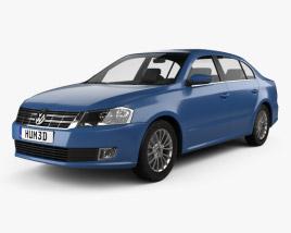 Volkswagen Lavida 2012 3D model