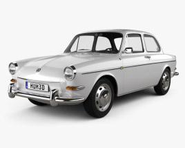 Volkswagen Type 3 (1600) sedan 1965 3D model