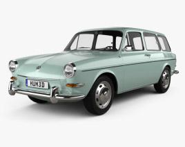 Volkswagen Type 3 (1600) variant 1965 3D model