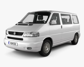Volkswagen Transporter (T4) Caravelle 1996 3D model