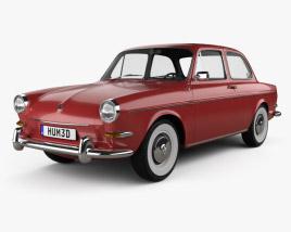 Volkswagen 1500 (Type 3) notchback 1961 3D model