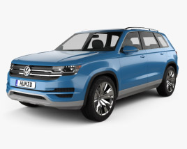Volkswagen CrossBlue 2013 3D model