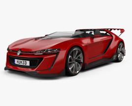 Volkswagen GTI Roadster 2014 3D model