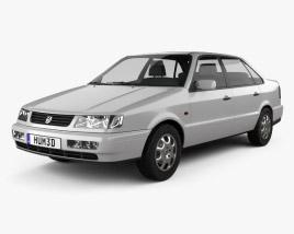 Volkswagen Passat (B4) sedan 1993 3D model