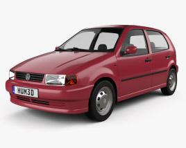 Volkswagen Polo 5-door 1994 3D model