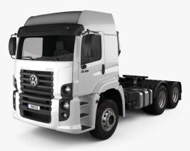 Volkswagen Constellation (25-390) Tractor Truck 3-axle 2011 3D model
