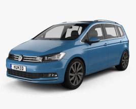 Volkswagen Touran 2015 3D model