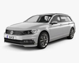 Volkswagen Passat (B8) variant R-Line 2015 3D model